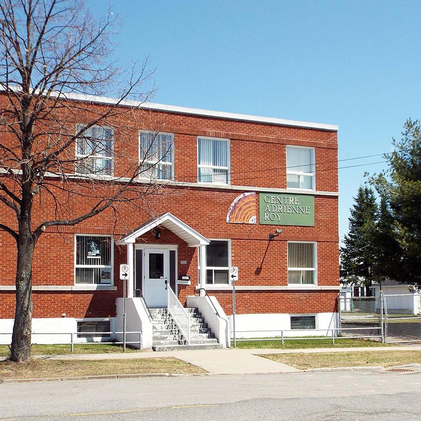 Bâtisse du Centre Adrienne-Roy